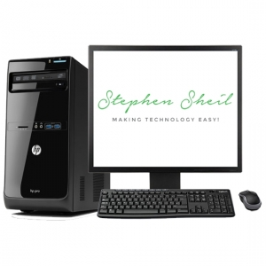 HP Pro 3505 MT with 17 Monitor_a
